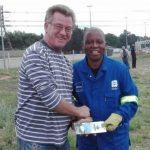 John du Plessis & Herman Mashaba armour site